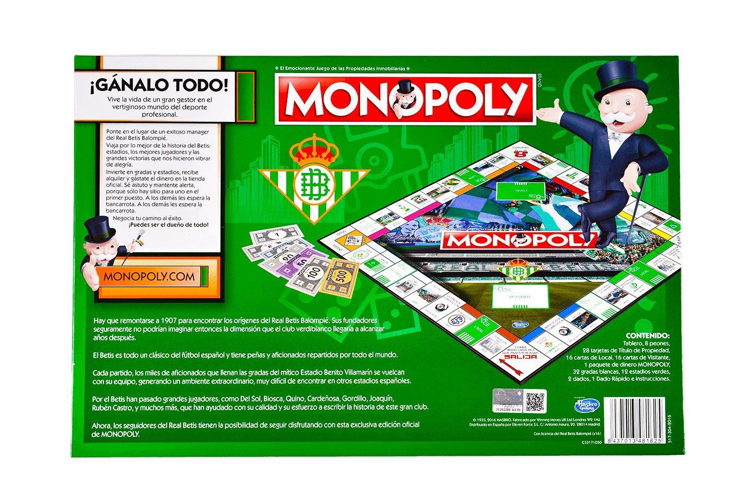 Eleven Force- BalompiÉ Monopoly Real Betis (81625),, Ninguna (