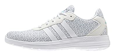 adidas Neo Cloudfoam Speed Womens Synthetic Material Running Trainers WhiteMulti