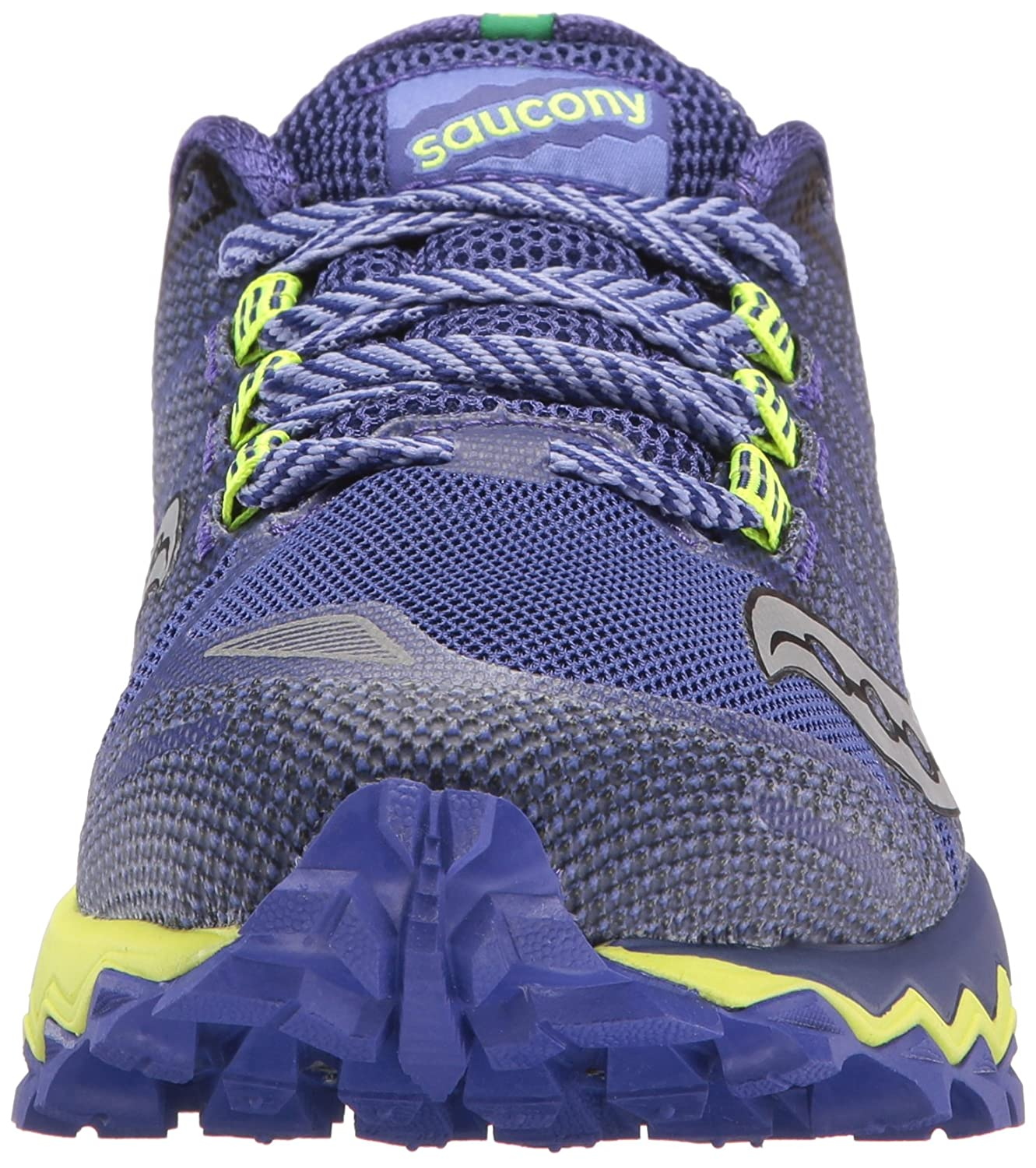 Saucony Women's Peregrine 7 Trail Running Shoe B01N5I5S7O 8.5 B(M) US|Blue Citron