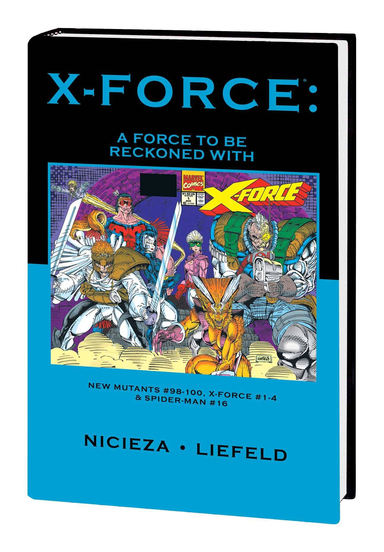 Read Online X-FORCE PREM HC FORCE TO BE RECKONED WITH DM VAR ED (X-FORCE, PREM HC FORCE TO BE RECKONED WITH DM VAR ED) PDF