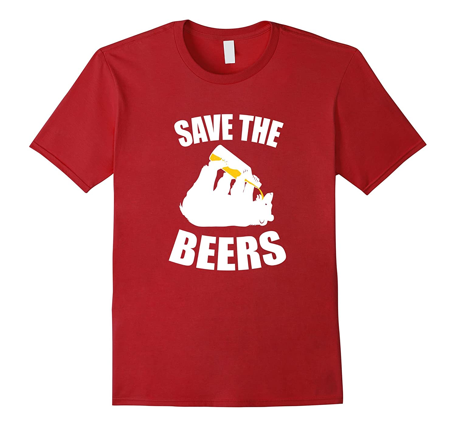 Save The Bears – Funny Parody T-Shirt for Men and Women