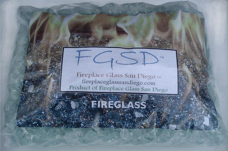 amazon com fireplace fire pit glass chunky 3 4