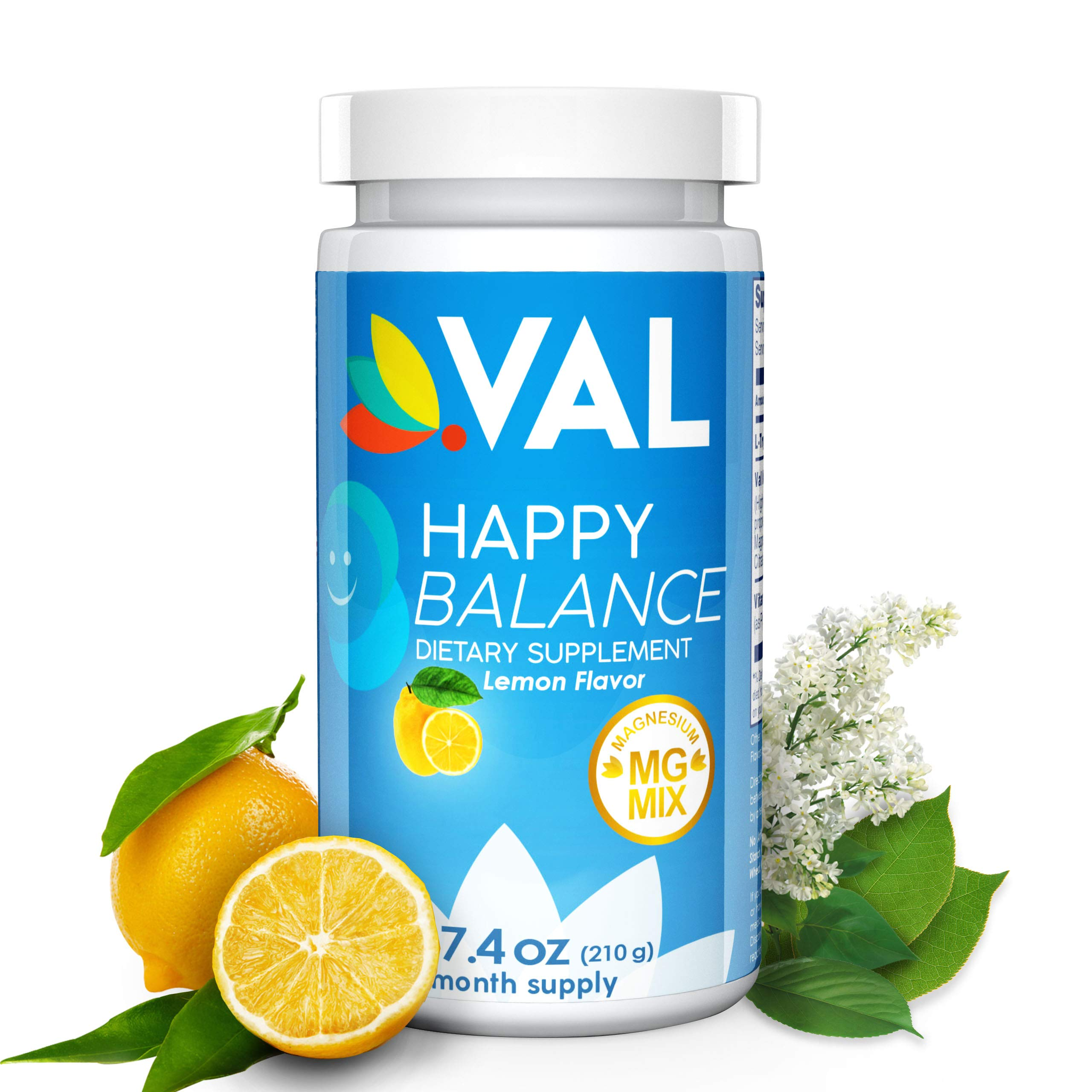 Magnesium, L Tryptophan, B6. Natural Anxiety Relief Supplement. Maximum Absorption/Bioavailability. Helps with Mood, Relaxation, PMS, Appetite Control. Naturally Sourced Serotonin Booster. Non GMO by VAL