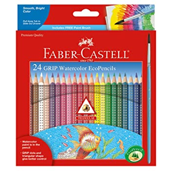 Faber-Castell – GRIP Watercolor EcoPencils