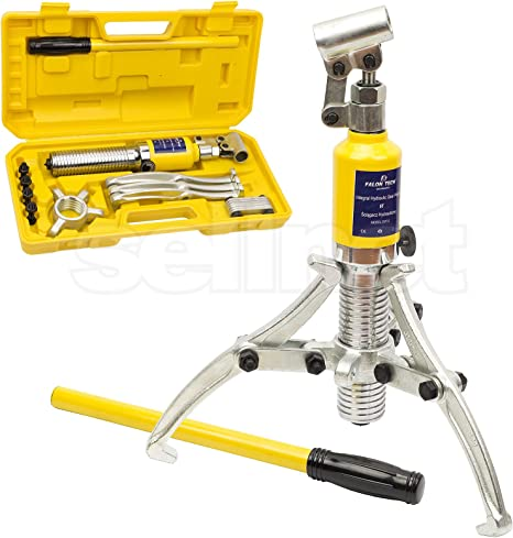 Hydraulik 15T Extracteur de moyeu hydraulique extracteur de roue Kit d/'outils