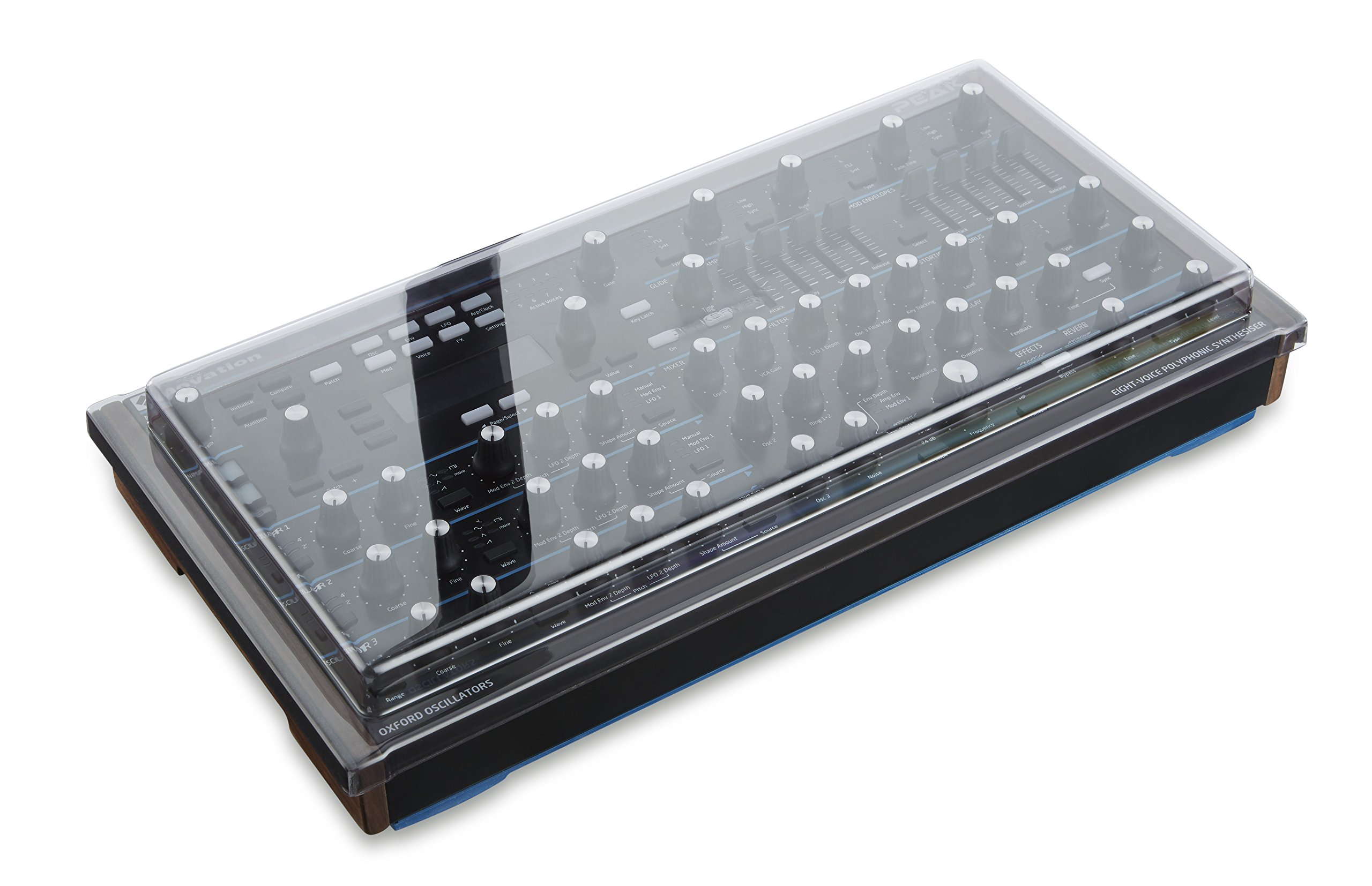 Decksaver DS-PC-PEAK Polycarbonate Cover for the Novation Peak Analog Synthesizer