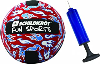 Schildkröt Fun Sports Ballon de plage volleyball Taille 5 & pompe Rouge