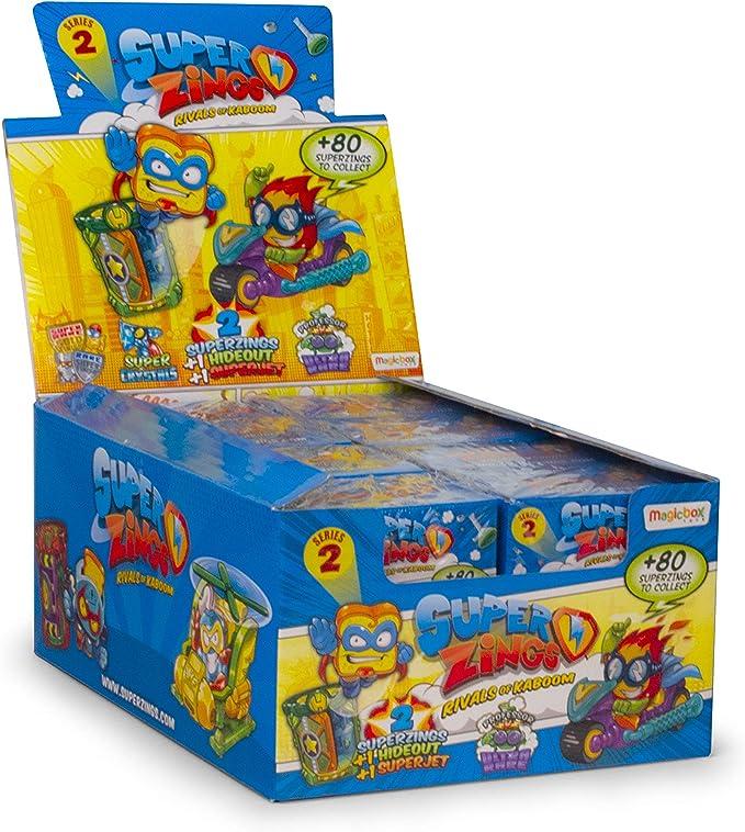 SuperZings - Serie 2 - Caja con colección completa - Incluye 4 Hideout y 4 Superjet , color/modelo surtido: Amazon.es: Juguetes y juegos