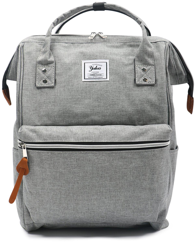 Yuluo, bonita mochila color granito, estilo minimalista
