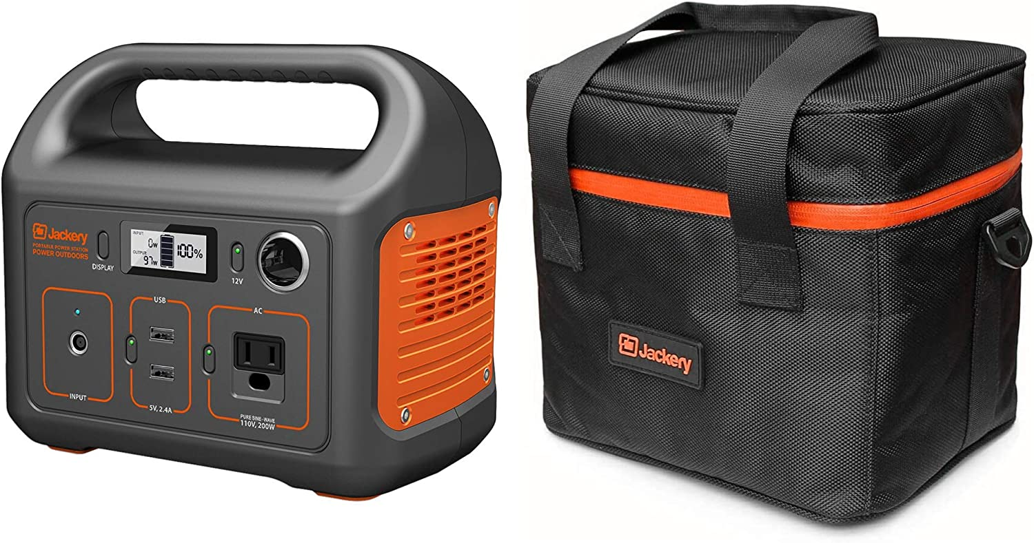 Jackery Portable Power Set for Car Camping Travel Outdoor Adventure