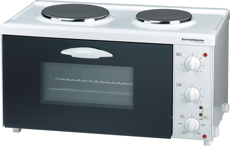 Rommelsbacher TK 2505 Basic Line - Cocina eléctrica de dos ...