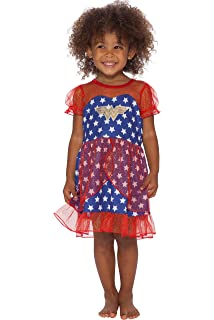 DC Comics Girls Wonder Woman USA Fantasy Nightgown