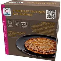 Tartelettes fines aux pommes surgelées - 4 x 100 g