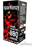 Sparkenzy Long Burning Barbeque Charcoal 10 Kg with Low Smoke and Odor
