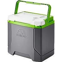 Igloo Profile 16 quart Cooler, Meteorite/Green, 16 Qt / 15 Large / 24 Cans