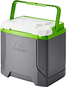 Igloo Profile 16 quart Cooler, Meteorite/Green, 16 Qt / 15 Large / 24 Cans