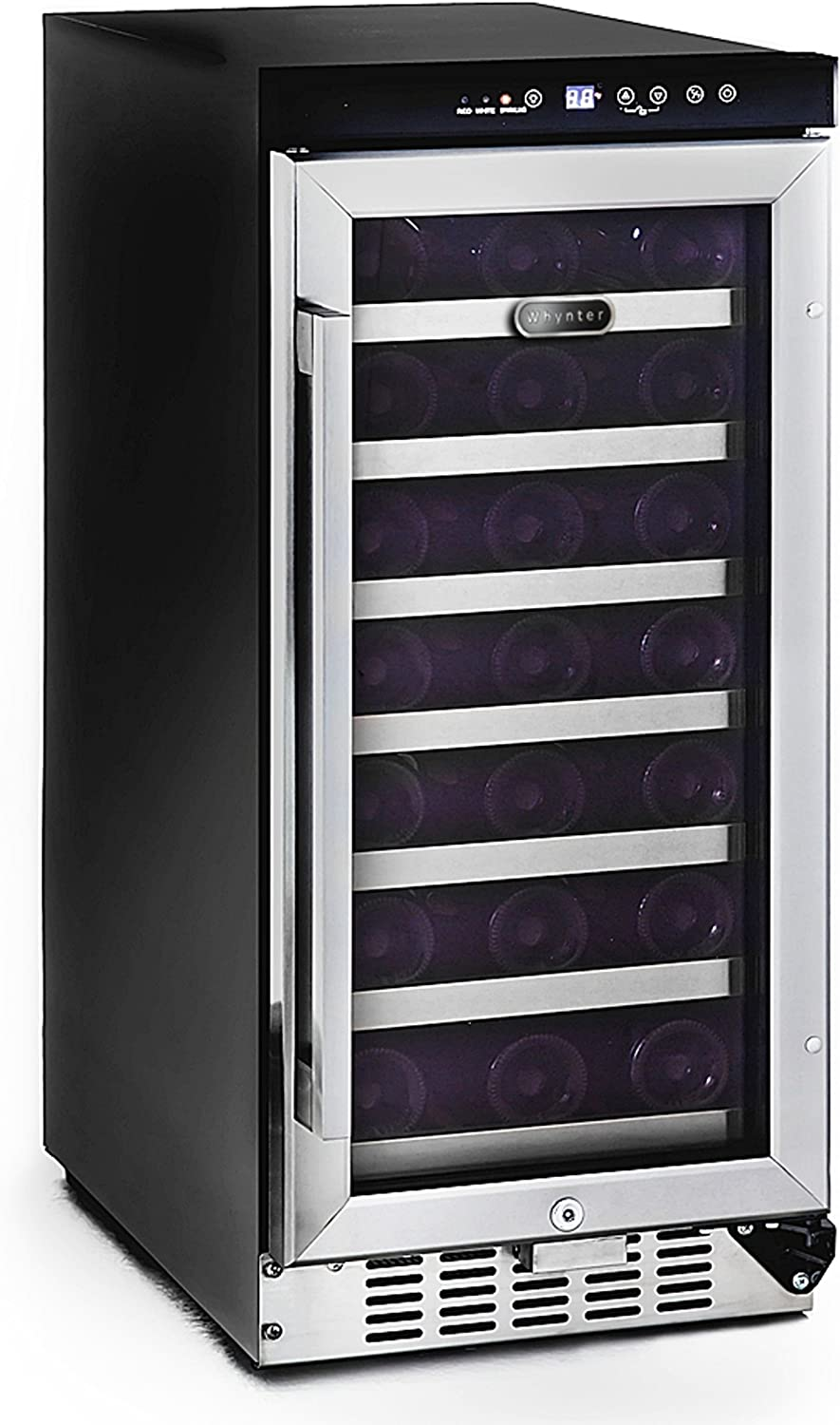 Whynter BWR-33SD 33 Bottle Built-In Wine Refrigerator,Multi
