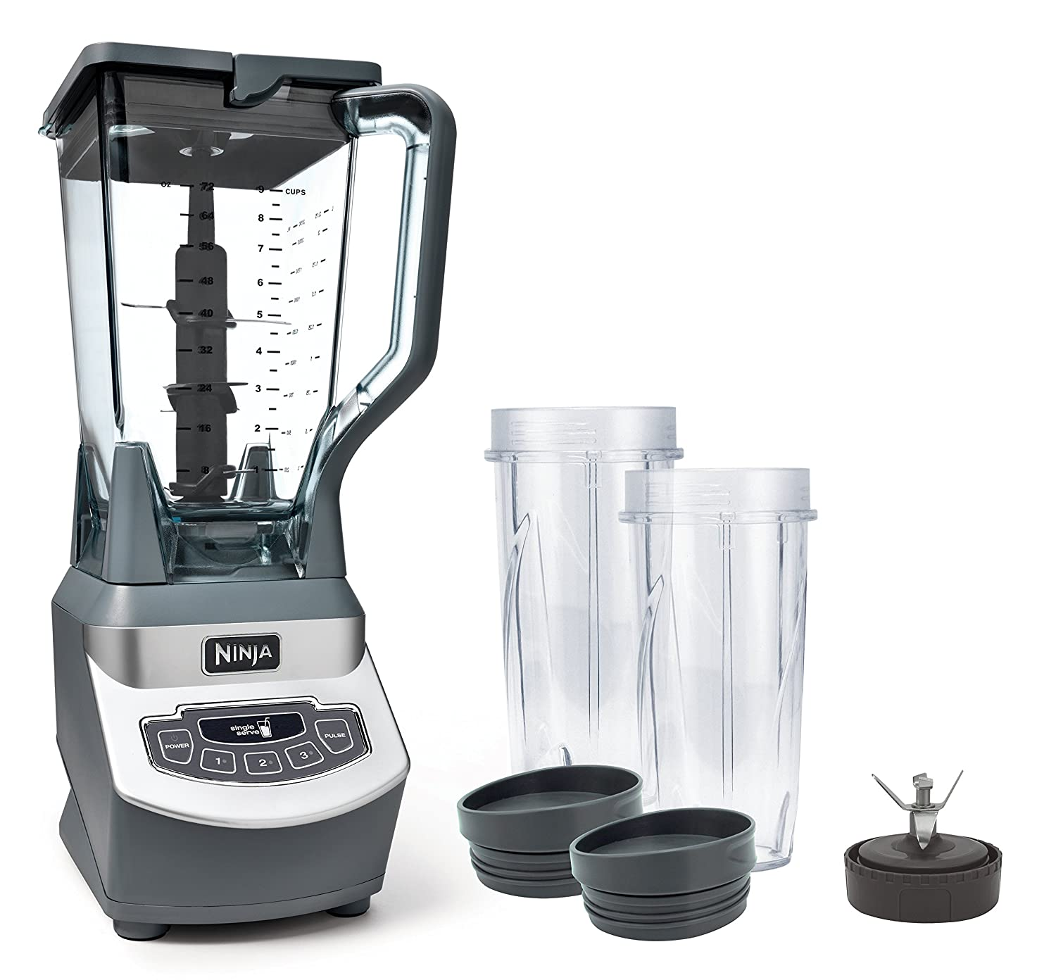 SharkNinja Ninja Professional Countertop Blender with 1100-Watt Base, 72oz Total Crushing Pitcher