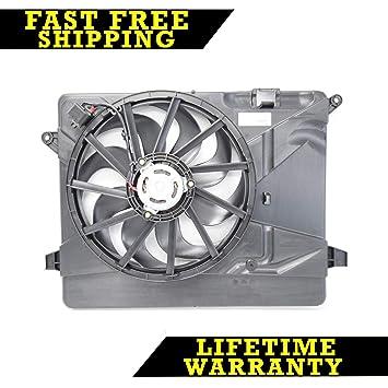 Radiador y se adapta Ventilador de condensador para Buick Encore gm3115257