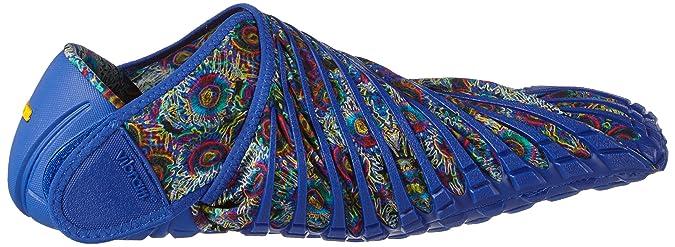 Vibram FiveFingers Unisex Furoshiki Blue Flower Sneaker XS: 36-37 (US Womens 6-6.5) Medium