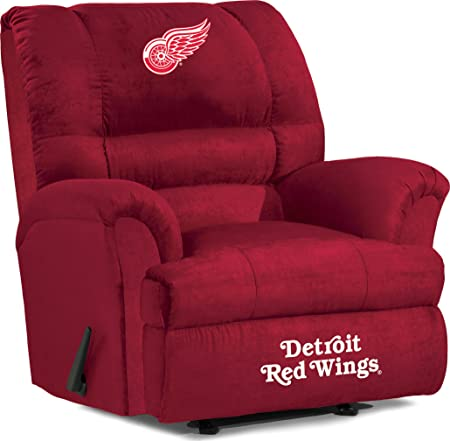 Imperial Officially Licensed NHL Furniture Big Daddy Microfiber Rocker Recliner