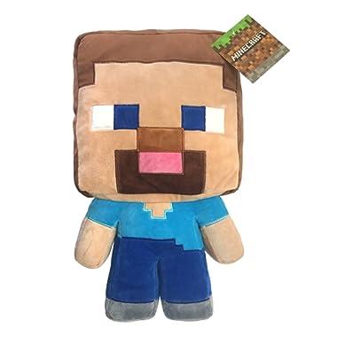 Jay Franco Mojang Minecraft Steve Plush 16  Pillow Buddy