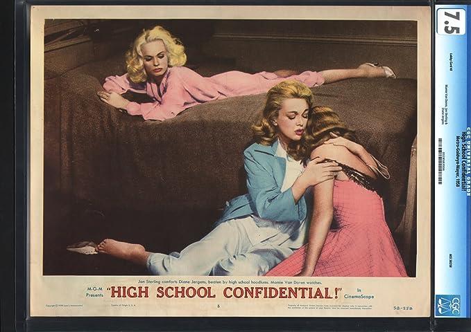 High School Confidential Lobby Card Movie Poster
