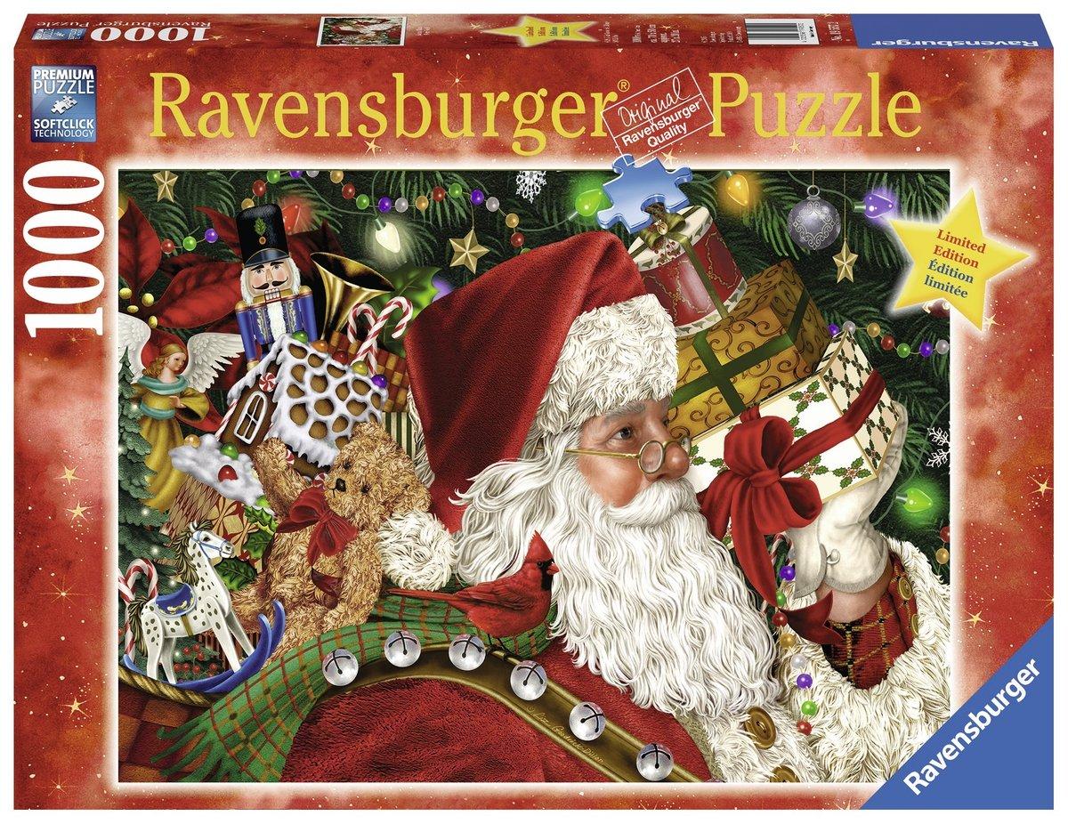 Ravensburger Santa Claus Puzzle (1000 Piece)