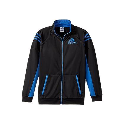 244df834d648 adidas Kids Boy s League Track Jacket (Big Kids) Black Blue X-Large