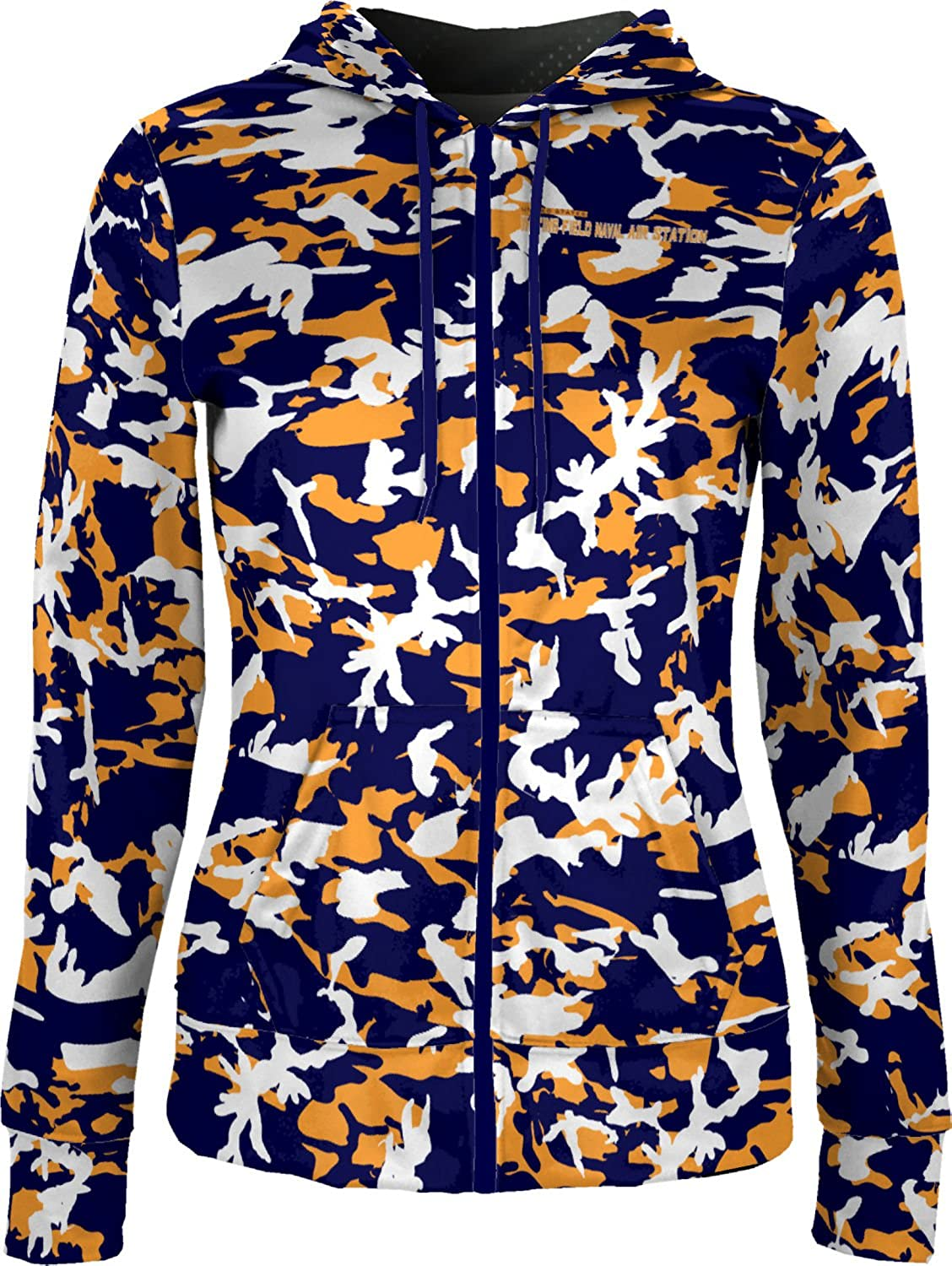 ProSphere Women's Whiting Field Naval Air Station Military Camo Fullzip Hoodie