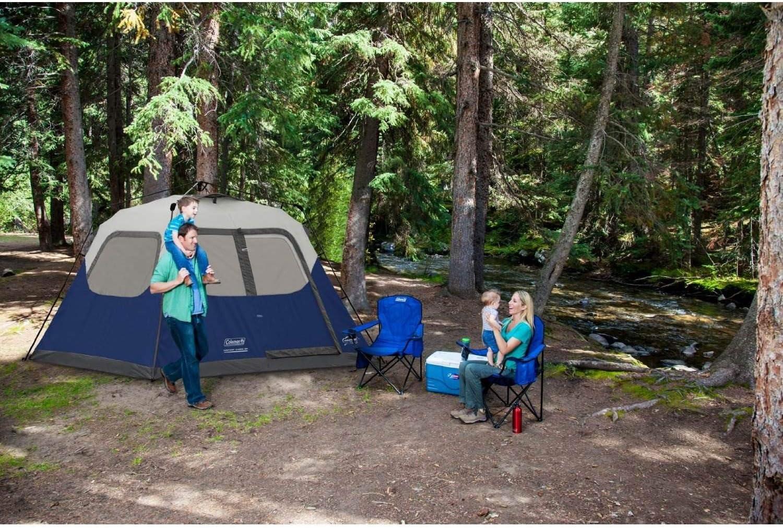Coleman 6-Person Instant Tent Ventilation