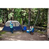 Amazon Com Coleman Instant Tent 4 Person Brown Black