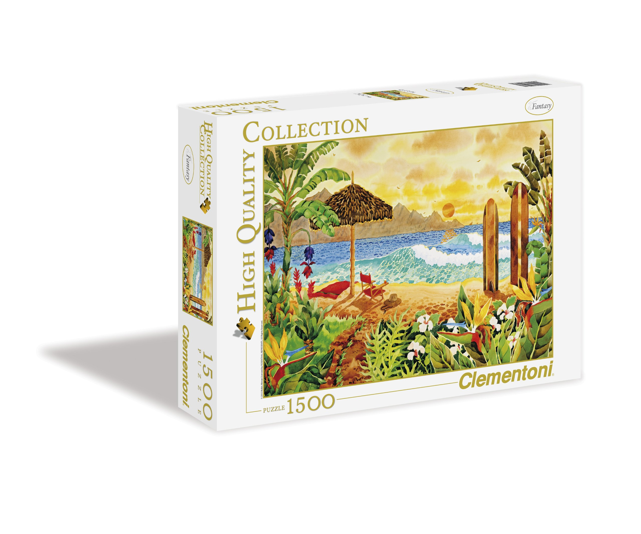 Clementoni Surfing the Islands 1500 Piece Jigsaw Puzzle