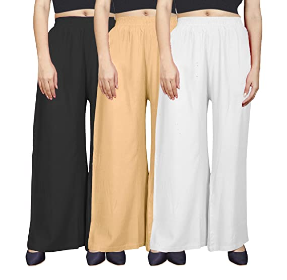 Buy Shree Krishna Shopping Regular Fit Women Rayon Trousers Xxl Black Skin White At Amazon In We strive to offer a vast assortment of denim styles that not only look good and feel good, but cater to. amazon in