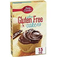 Betty Crocker Baking Mix, Gluten Free Cake Mix, Yellow, 15 oz (Pack of 6)