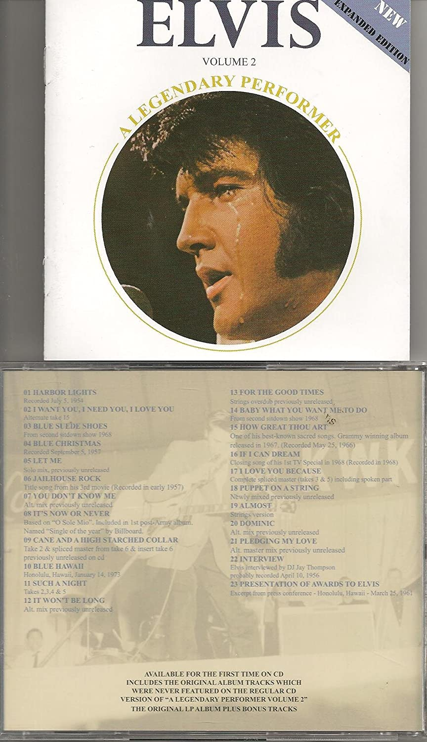 Elvis Presley Legendary Performer 2 Amazon Music How To Be Single Box  Office Solution For How