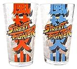 ERIK GL02CC01 Set of 2 Street Fighter Glasses Ryu