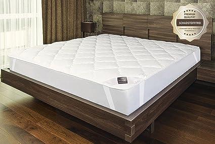 Sei Design protector de colchón Premium Extra Soft 90x200 cm. El acolchado doble hace que