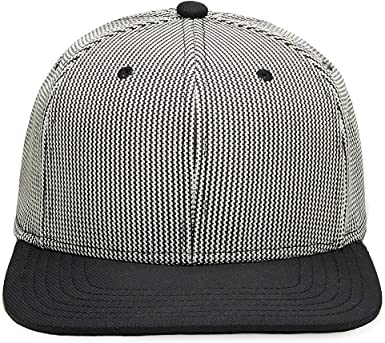 Gents Mens James Metallic Woven Cap Silver//Black One Size Fits All