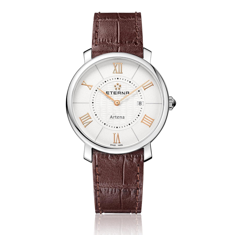 Eterna Damen - Armbanduhr Artena Analog Quarz 2510.41.15.1253