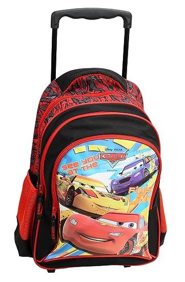 Disney Pixar Cars Trolley School Bag For Kids 18 Inches