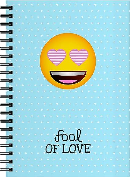 El Jardin de Noa EBN1003D - Cuaderno, A4: Emoji By Noa: Amazon.es: Oficina y papelería
