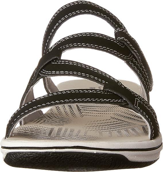 e6a28c274 Women s Brinkley Lonna Slide Sandal Black 7 M US