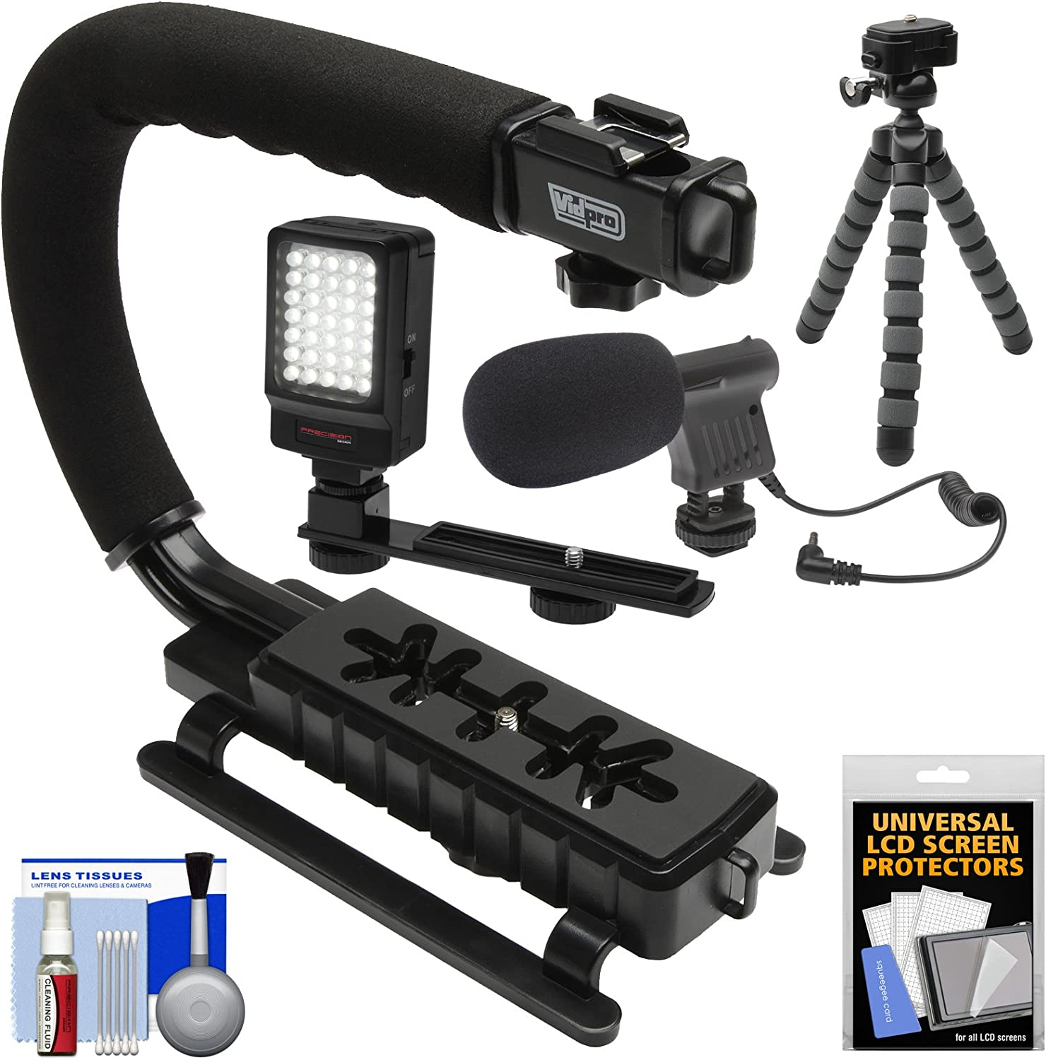 Nikon D2X Vertical Shoe Mount Stabilizer Handle Pro Video Stabilizing Handle Grip for