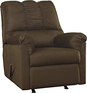 Ashley Furniture Signature Design - Darcy Contemporary Microfiber Rocker Recliner