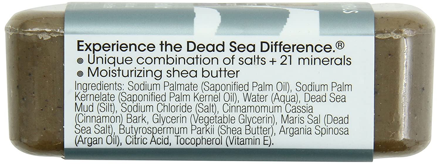 One With Nature Soap, Dead Sea Mud, 7 Ounce Pack of 36