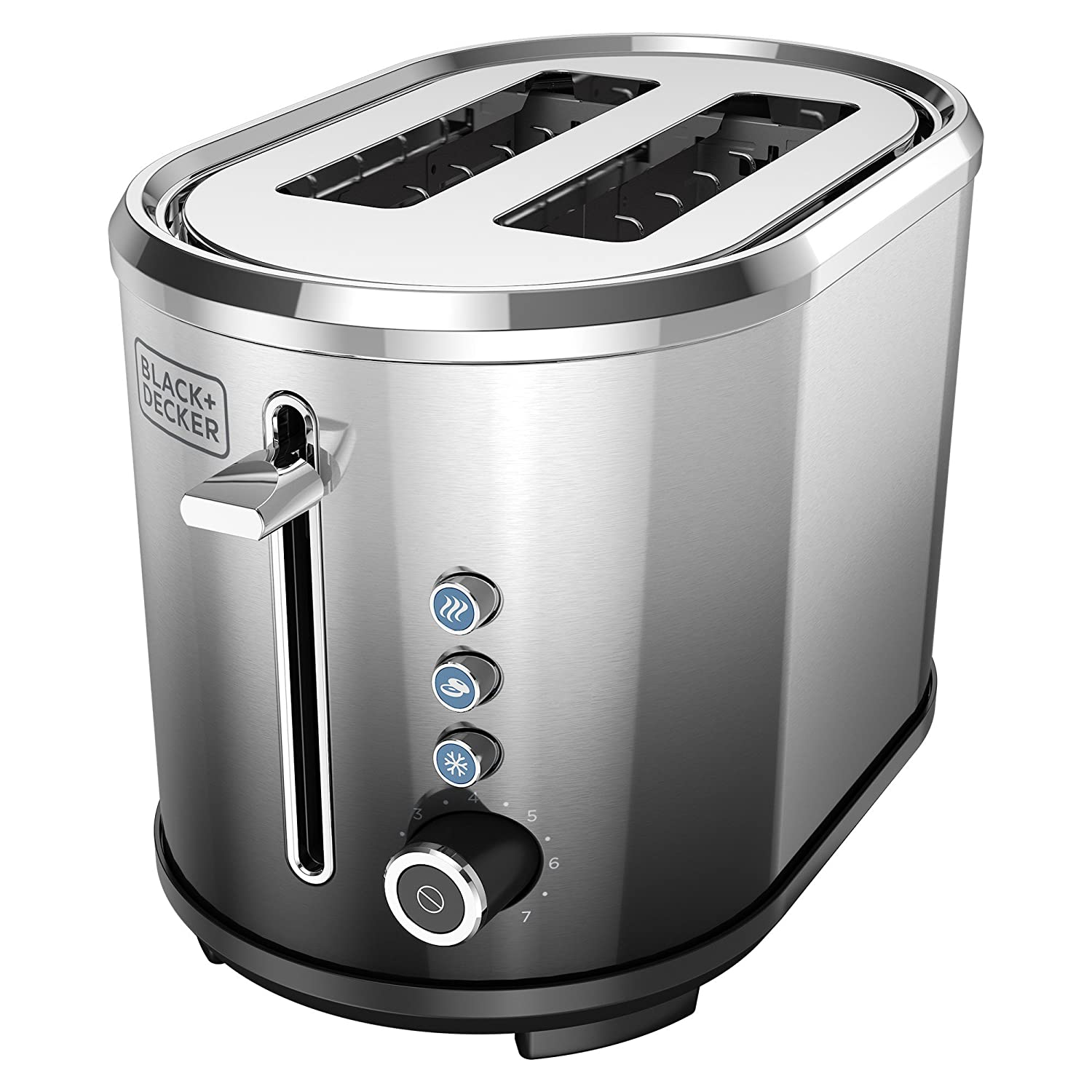 Amazon.com: BLACK+DECKER 2-Slice Extra-Wide Slot Toaster ...
