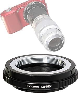 Adaptador Leica m39 objetiva en Sony Alpha a6000 a5100 a5000 a3500 a3000 a7r a7