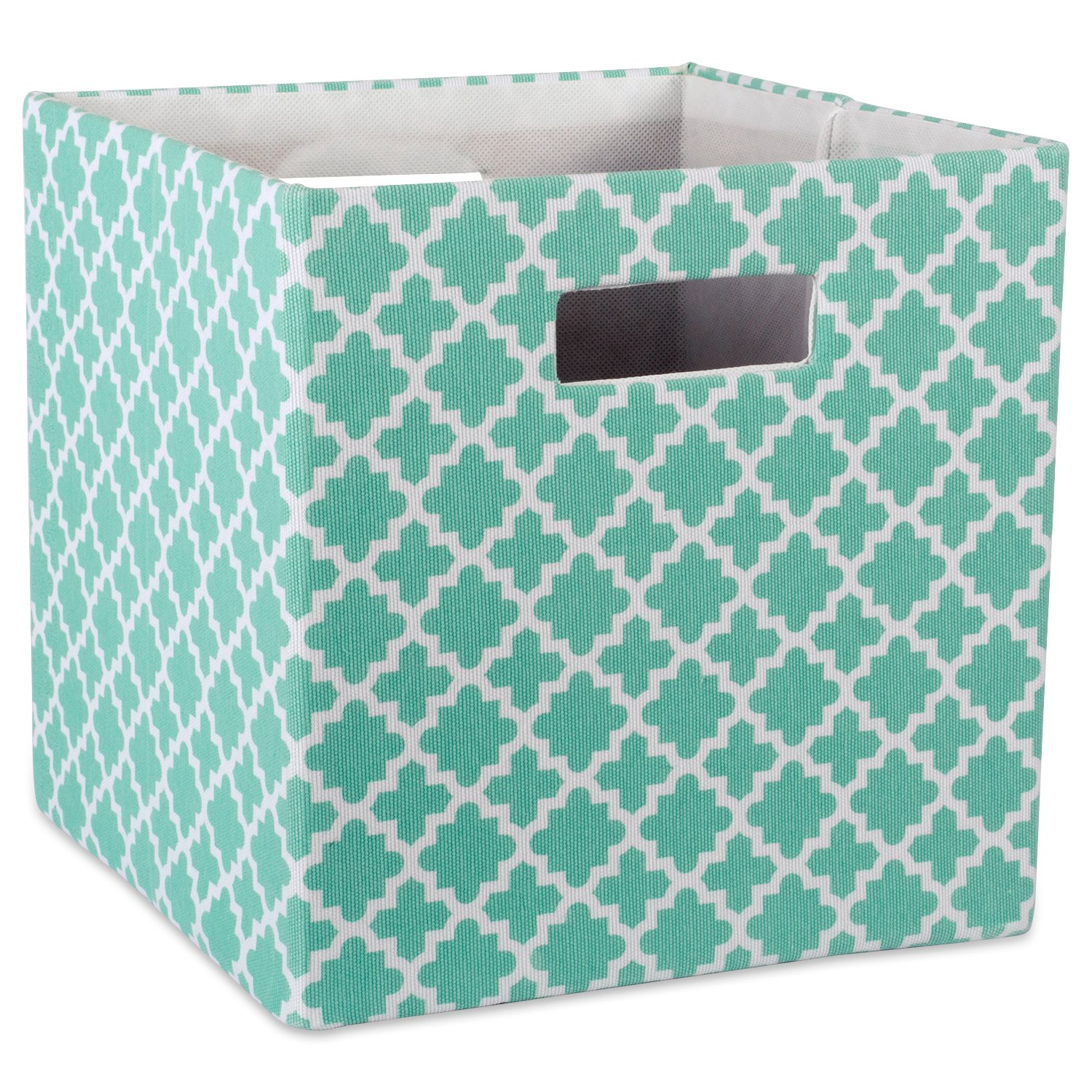 Details About DII Hard Sided Collapsible Fabric Storage Container For  Nursery, Offices, Home
