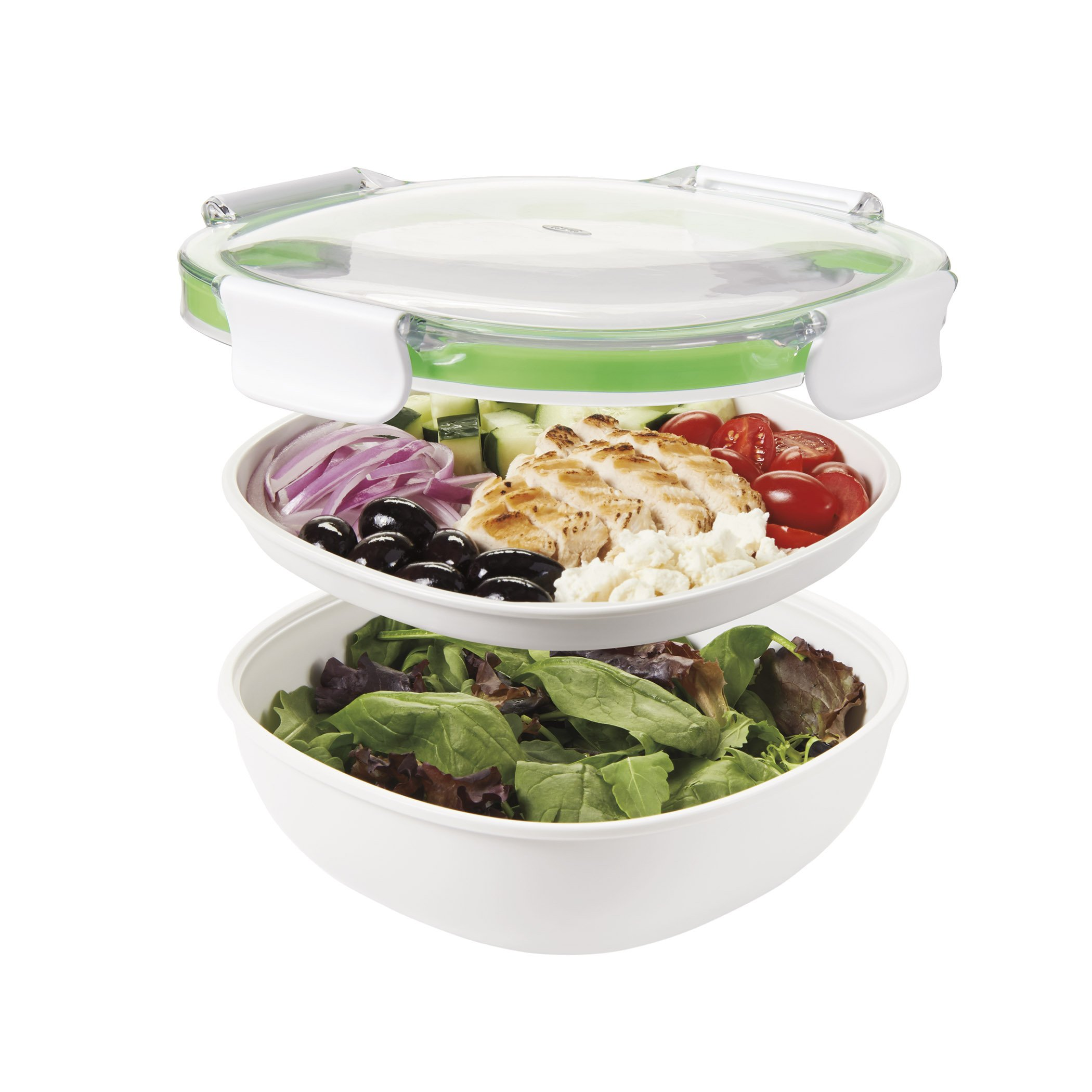 OXO Good Grips Leakproof On-The-Go Salad Container by OXO (Image #2)